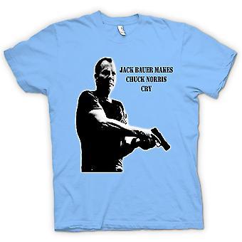Womens T-shirt - Jack Bauer - Chuck Norris - 24