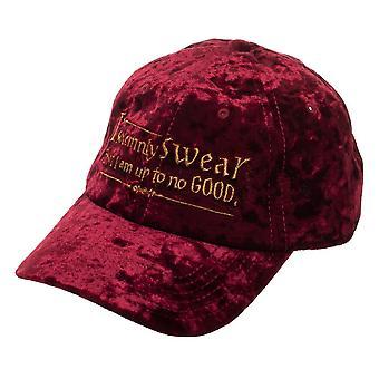 Baseball Cap - Harry Potter - I Solemnly Swear Velvet Adjustable Cap New ba6fr0hpt