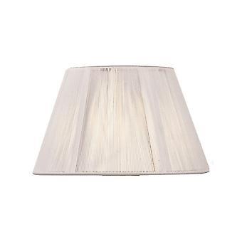 Mantra Silk String Shade Blanc Ivoire 250/400mm X 250mm