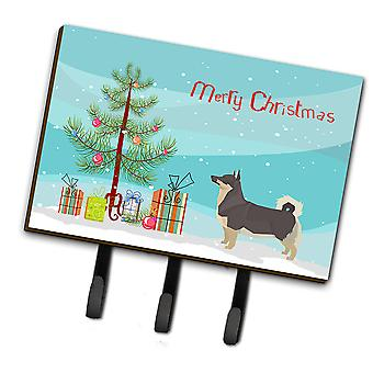 Swedish Vallhund Christmas Tree Leash or Key Holder