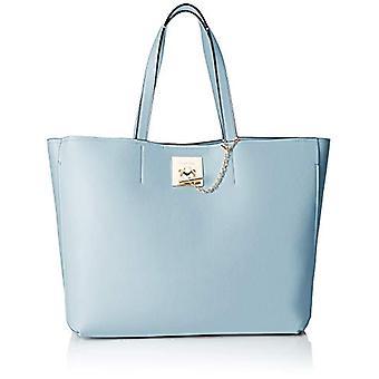 Calvin Klein Ck Lock Shopper - Blue Women's Tote Bags (PALE BLUE) 16x31x36 cm (B x H T)