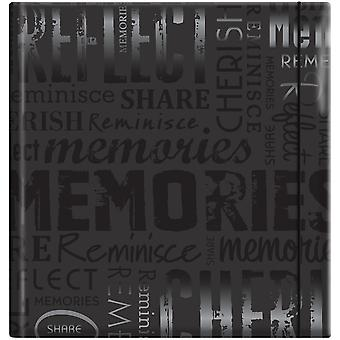Embossed Gloss Expressions Photo Album 200 Pkt 8 3 4