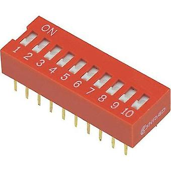 Conrad Components 704932 DIP Switch