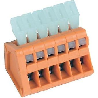 Spring-loaded terminal 0.50 mm² Number of pins 10 AKZ3191/10KD-2.54 PTR Orange 1 pc(s)
