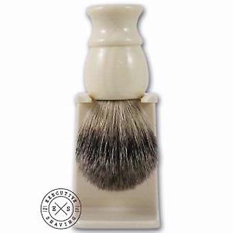 Executive Shaving Cream Best Badger Hair Shaving Brush & Stand
