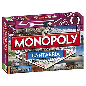 Hasbro Monopoly Edition Cantabria (Spielzeuge , Brettspiele , Strategie)