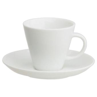 Thun Coffee Cup With Plate 135 Ml Set of 6