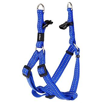 Rogz For Dogs Snake Step-in H Blauw 16 Mmx42-61 Cm