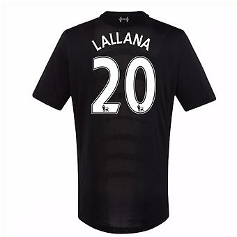2016-17 Liverpool Away Shirt (Lallana 20) - Kids