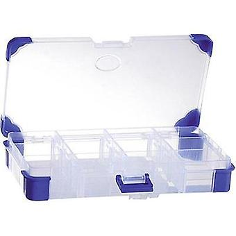 Assortment box (L x W x H) 200 x 110 x 30 mm VISO JAP 2011 No. of compartments: 12 variable compartments