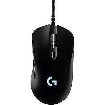 USB gaming musen optiske Logitech Gaming G403 Prodigy ergonomisk, Backlit Black
