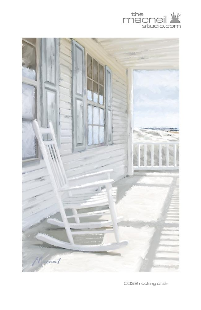 Rocking Chair Poster Print by The Macneil Studio (24 x 36)