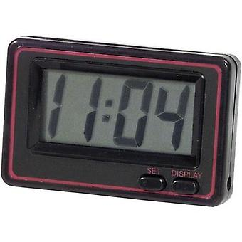 Herbert Richter 66/215 Quartz Digital Clock Black, Red