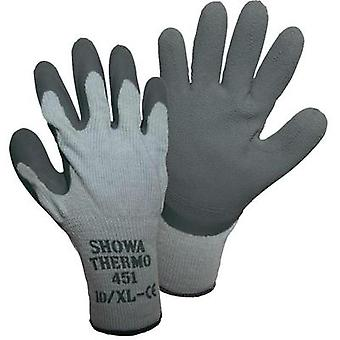 Showa 14904 SHOWA 451 thermal knitted glove size 8 Acrylic/cotton/polyester with latex coating Size 8