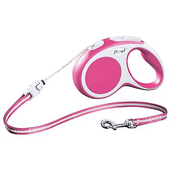 Flexi Vario Cord Pink Small 12kg - 5m (16ft)