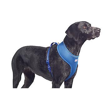 Comfort Mesh Dog Harness Blue Small 34-45cm