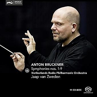 Bruckner / Holland Radio Philharmonic - Bruckner: symfonier nr 1-9 [SACD] USA importerer