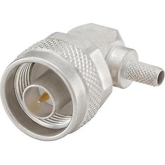N connector Plug, right angle 50 Ω Rosenberger 53S205-308N5 1 pc(s)