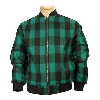 Mens New Lumberjack Outdoors Padded Flight Jacket