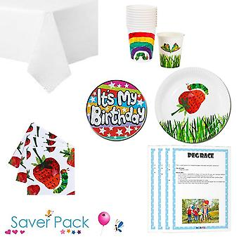 De Hungry Caterpillar Party servies Saver Pack