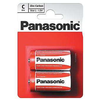 Panasonic C Size Battery (R14RZ-2BP) - Pack of 12