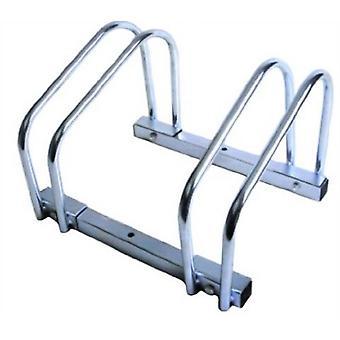 Golv/vägg monterad cykel Rack
