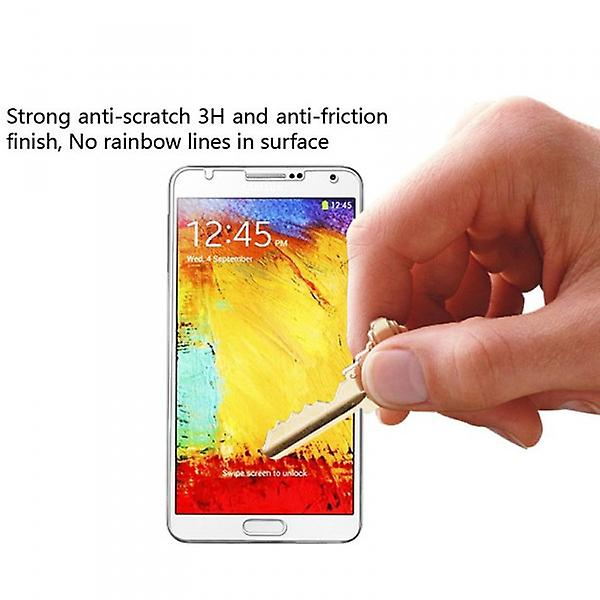 Screen protector for Samsung Galaxy touch 3 N9000 N9005 accessories + polishing cloth