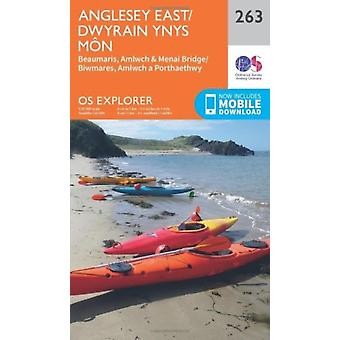 OS Explorer Map (263) Anglesey East (Map) by Ordnance Survey