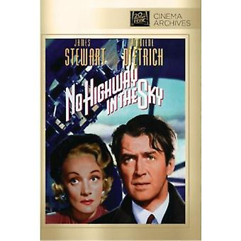 No Highway in the Sky [DVD] USA import
