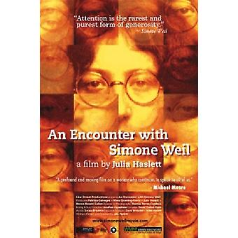 Encounter with Simone Weil [DVD] USA import