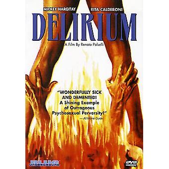 Delirium [DVD] USA importerer