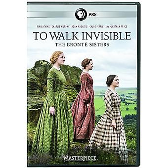 Masterpiece: To Walk Invisible - Bronte Sisters [DVD] USA import