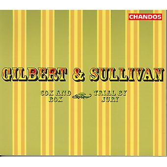 Sullivan/Gilbert - Gilbert y Sullivan: Cox & Box; Juicio por jurado [CD] USA importar