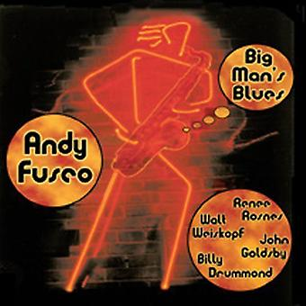Andy Fusco - stor mand Blues [CD] USA import