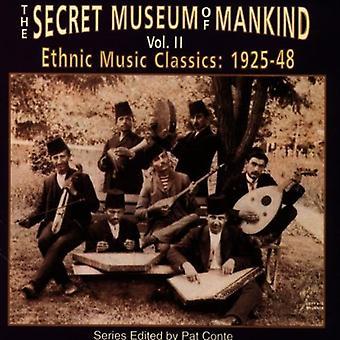 Secret Museum of Mankind - Secret Museum of Mankind: Vol. 2-Ethnic Music Classics [CD] USA import