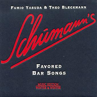 Yasuda, Fumio/Bleckmann - Schumann's Favored Bar Songs [CD] USA import