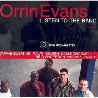 Orrin Evans - Lyt til bandet [CD] USA importen