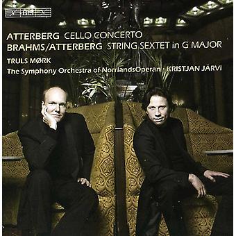 Atterberg/Brahms - Atterberg: Cellokonsert; Brahms/Atterberg: Stråksextett i G-dur [CD] USA import