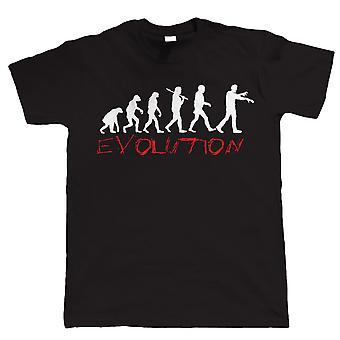 Evolutie van Zombies, heren T Shirt