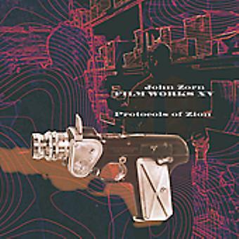 John Zorn - Filmworks Xv: Importación USA protocolos de Zion [CD]