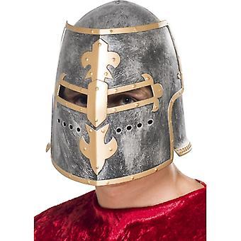 Ridder helm van middeleeuwse ridder helm Crusader helm kostuum