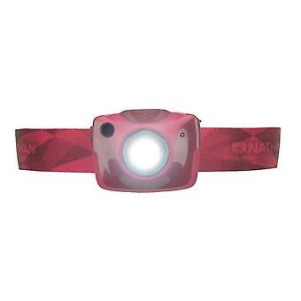 Nathan Nebula Fire Stirnlampe Rio Red