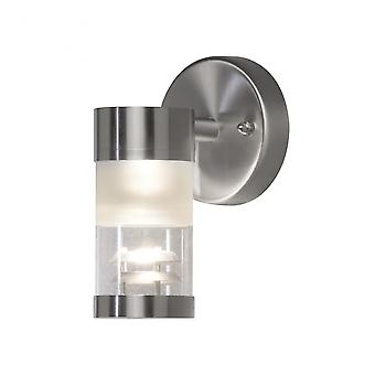 Konstsmide Konstsmide Bolzano External Down Light Stainless Steel Wall Fitting
