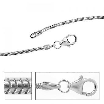Silver snake chain 925 Silver necklace silver chain 1,3 mm