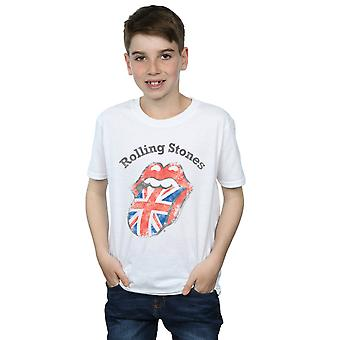 Rolling Stones gutter UK tungen t-skjorte