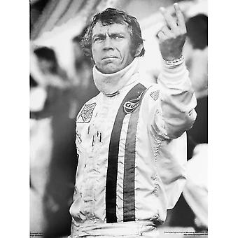 Sporting Display Steve McQueen Salutes Le Mans Poster