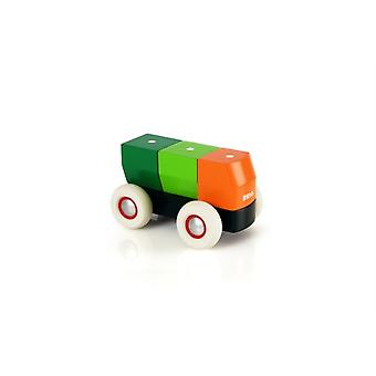 BRIO Magnetic Stacking Truck (damaged packaging was £15.03) 30136