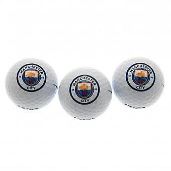 Bolas de golfe do Manchester City