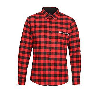 HERO'S HEROINE Button Down Shirt Red Check