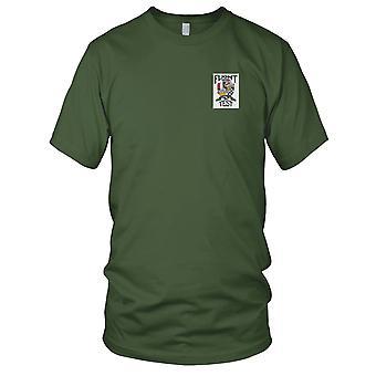 USAF Airforce - Flight Test Sabre Jet broderet Patch - Herre T-shirt
